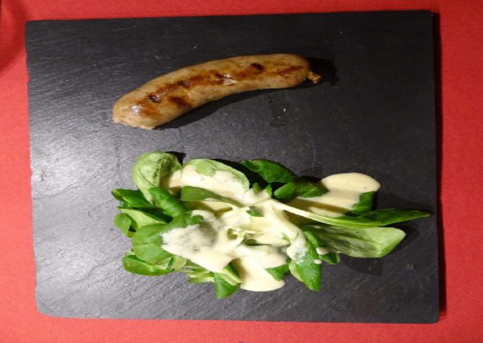 Bratwurst mit Marroni